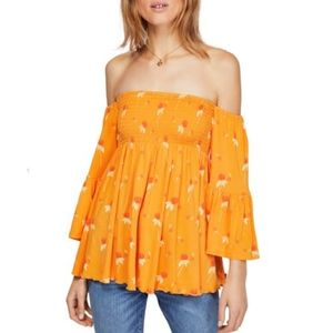 Free People Lana Off the Shoulder Tunic (nm7)